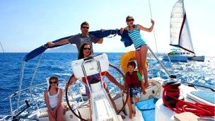 family-sailing-vacation